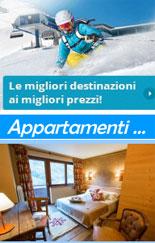 Offerte appartamenti in montagna